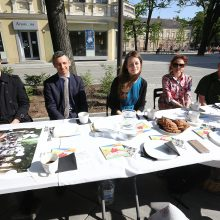 Ar pažįstate savo kaimynus? Prie bendro stalo kviečiamas visas Kaunas