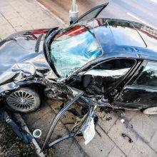 Per savaitę keliuose sužeista per 100 žmonių