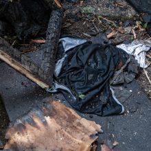 Tragiškas gaisras Kaune: liepsnose žuvo vyras <span style=color:red;>(atnaujinta)</span>