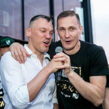 """Vaizdo klipe – raginimas Š. Jasikevičiui likti """"Žalgiryje"""""""