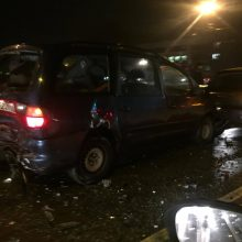 Sumaištis K. Baršausko gatvėje: eismą paralyžiavo net kelios avarijos