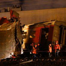 Maskvoje susidūrė traukiniai, medikų prireikė dešimtims žmonių
