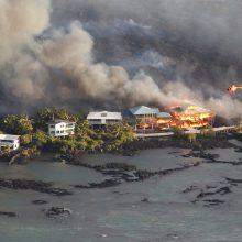 Havajuose lava sunaikino daugiau kaip 600 namų