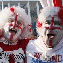 Pasaulio futbolo čempionate anglai sutriuškino Panamą