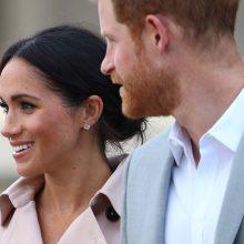Princas Harry su žmona aplankė N. Mandelai skirtą parodą