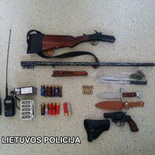 Šalčininkų rajone sulaikyti keturi įtariamieji, galėję padegti policininko tėvų turtą
