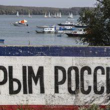 Lietuva primena nepripažinsianti Krymo aneksijos
