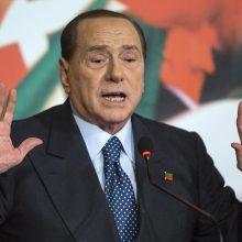 Italijos ekspremjeras S. Berlusconi dalyvaus Europos Parlamento rinkimuose