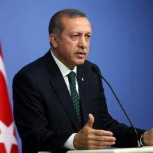 R. T. Erdoganas: JAV sprendimas nutraukti vizų išdavimą Turkijai labai liūdina