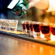 Uostamiesčio baruose – nelegalaus alkoholio upės