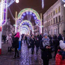 Klaipėdiečiams – įspūdingi Šviesų festivalio reginiai