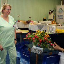 Jūrininkų ligoninėje pagerbtos slaugytojos