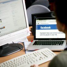 """Tarp """"Facebook"""" uždarytų puslapių – keli, skirti Vilniui"""