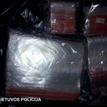 Sėkminga operacija: sulaikytas didelis narkotikų kontrabandos krovinys