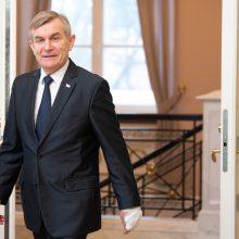 Seimo pirmininkas vyksta vizito į Latviją
