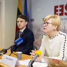 I. Šimonytė: Lietuva turi bandyti kovoti dėl demokratijos perspektyvų Rusijoje