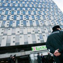 Vilniuje suimtas piktnaudžiavimu įtariamas policininkas