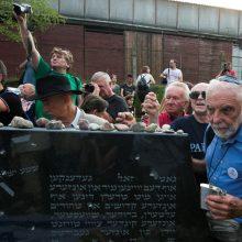 Žydai susipyko dėl palaikų perlaidojimo Šiauliuose