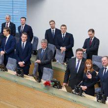 Kandidatus į atleidžiamų ministrų postus premjeras žada jau kitą savaitę