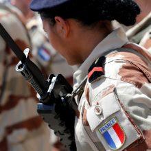 Lietuvoje dislokuoti beveik 300 Prancūzijos karių