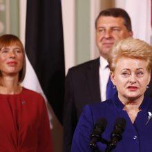 Baltijos šalių prezidentams Vokietijoje bus įteikta Vestfalijos taikos premija
