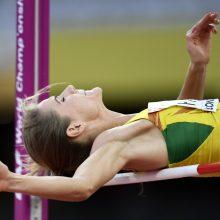 Lengvosios atletikos čempionate – A. Palšytės sezono rekordas