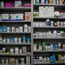 Pusmetį nebaus vaistinių dėl slaptų pirkėjų nustatytų pažeidimų