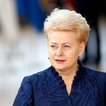 D. Grybauskaitė Niujorke kvies pasaulį keisti Jungtines Tautas