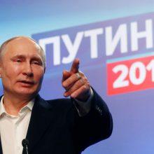 V. Putinas – Rusijos posovietinis caras