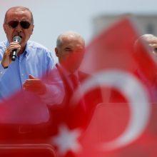 Turkijos opozicijos kandidatas metė iššūkį R. T. Erdoganui