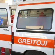 Klaipėdos rajone susidūrus dviem automobiliams sužaloti penki žmonės