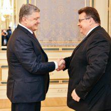 L. Linkevičius dar kartą pabrėžė Lietuvos paramą Ukrainai