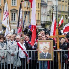 L. Kaczynskio vardu siūloma pavadinti sostinės gatvę Šnipiškėse