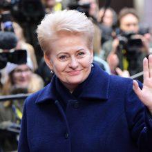 """D. Grybauskaitė vyksta į Briuselį tartis dėl """"Brexito"""" ir ES biudžeto"""