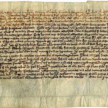 Eksponuos Gedimino laišką, kuriame pirmą kartą paminėtas Vilnius