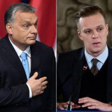 V. Orbanas prašo G. Landsbergio palikti jo partiją ES dešiniųjų organizacijoje