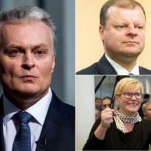 Prezidento rinkimai: į reitingų trejetuką įsiveržė I. Šimonytė