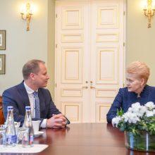 Prezidentė sprendimą dėl G. Surplio žada artimiausiu metu