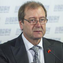 Darbo partijos pirmininku išrinktas V. Uspaskichas