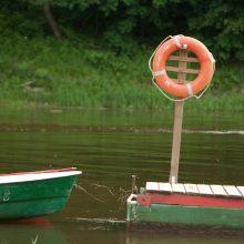 Ventos upėje nuskendo moteris