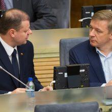 """Įvertino besibaigiančią Seimo sesiją: """"valstiečiai"""" melavo rinkėjams"""