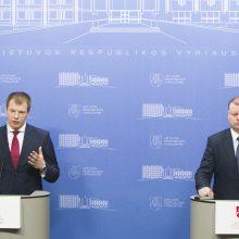 Vyriausybė liepė ministerijoms sutaupyti 600 mln. eurų