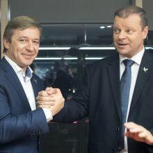 S. Skvernelis nesiginčija su R. Karbauskiu dėl savo tinkamumo į prezidentus