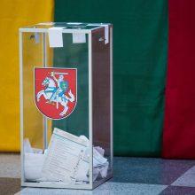 Rinkimų duomenis VRK ketina viešai skelbti 100 metų