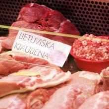 Specialistai: kiaulių maras neturi įtakos kiaulienos kokybei ir saugumui