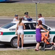 Vilniuje automobilis partrenkė pėsčiąją ir pabėgo <span style=color:red;>(moteris reanimacijoje)</span>