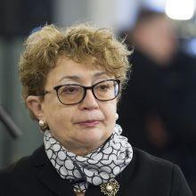 Dalis žydų reiškia nepasitikėjimą bendruomenės pirmininke F. Kukliansky