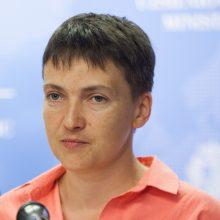 Buvusi Ukrainos lakūnė N. Savčenko kaltinama planavusi surengti išpuolį parlamente