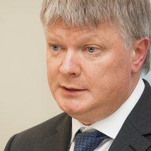 Aplinkos ministras K. Navickas atsakė Seimui į interpeliacijos klausimus