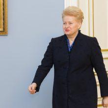 Prezidentė pasirašė įstatymus dėl valstybės tarnybos pertvarkos